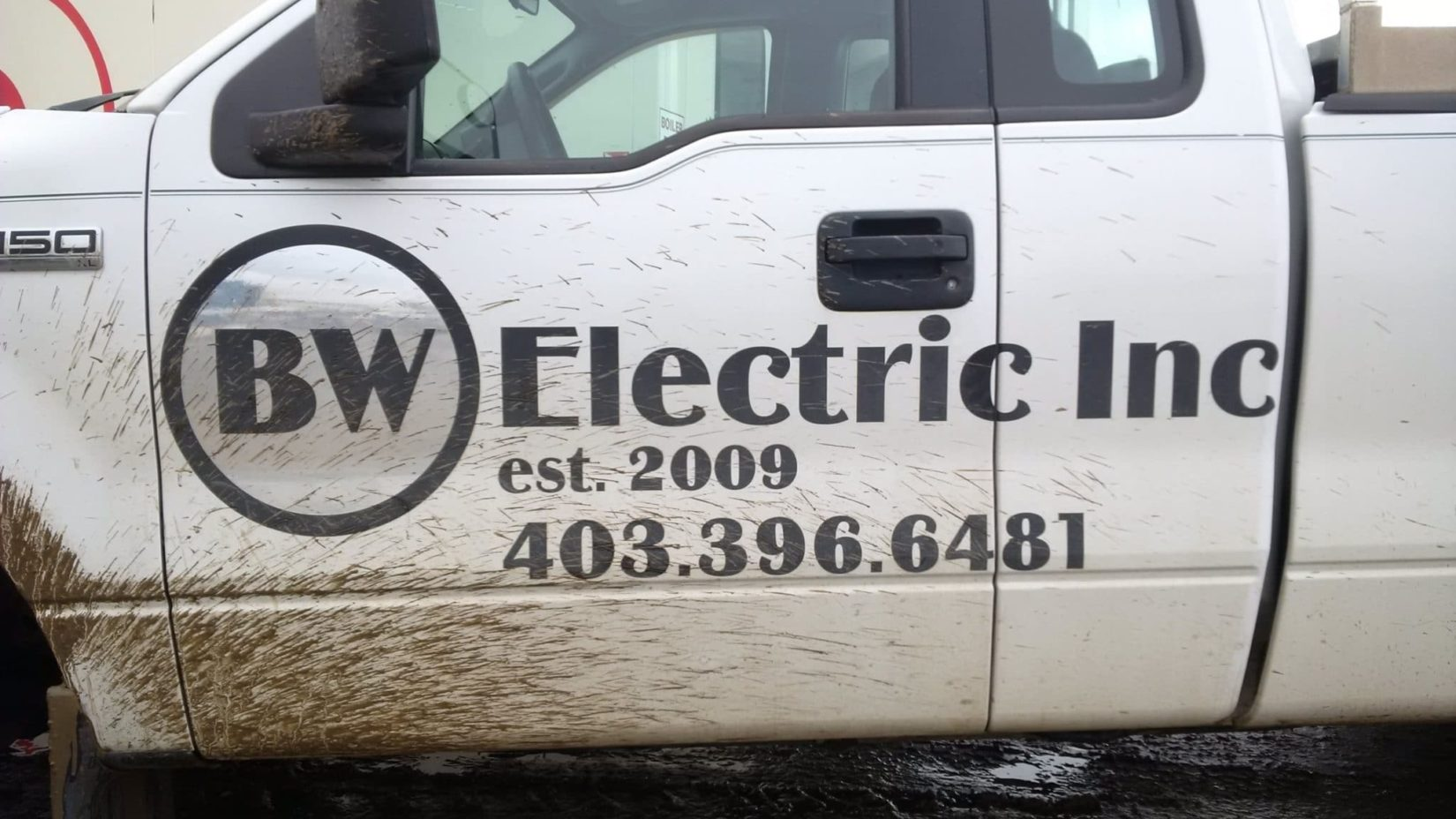 Company vehicle for BW Electric Inc.